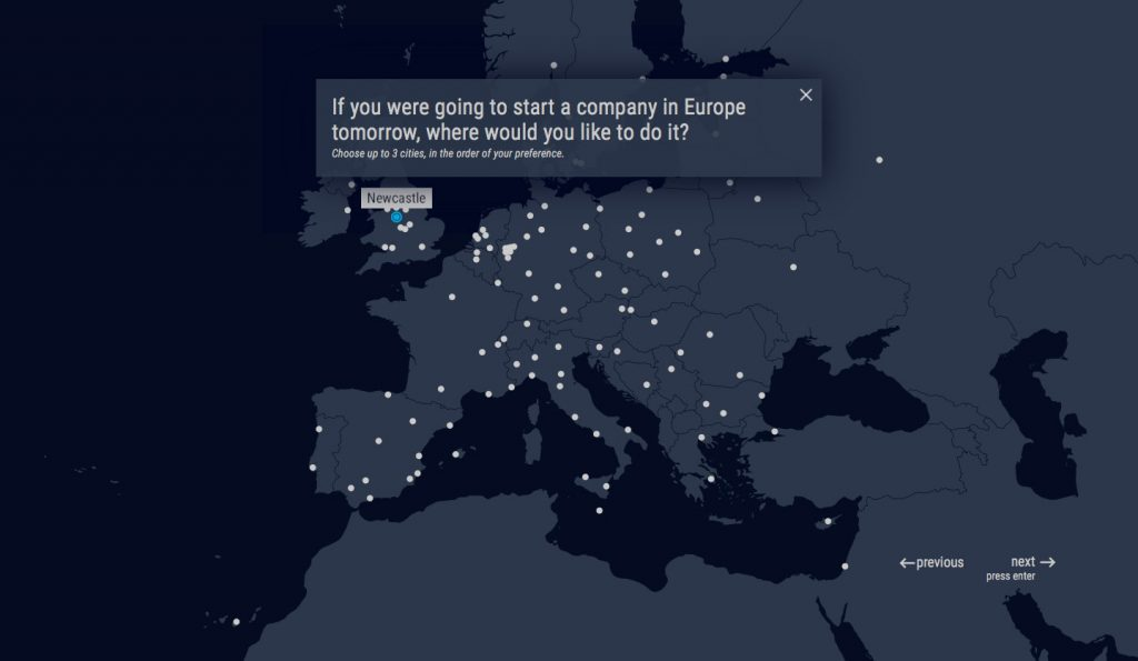 Take the European Startup Heatmap Survey