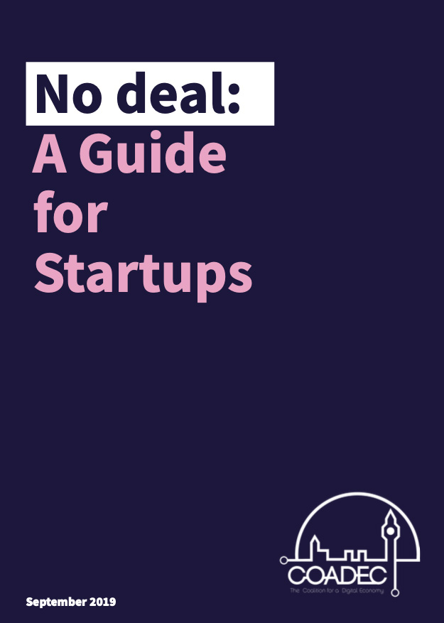 No deal: A Guide for Startups by Coadec
