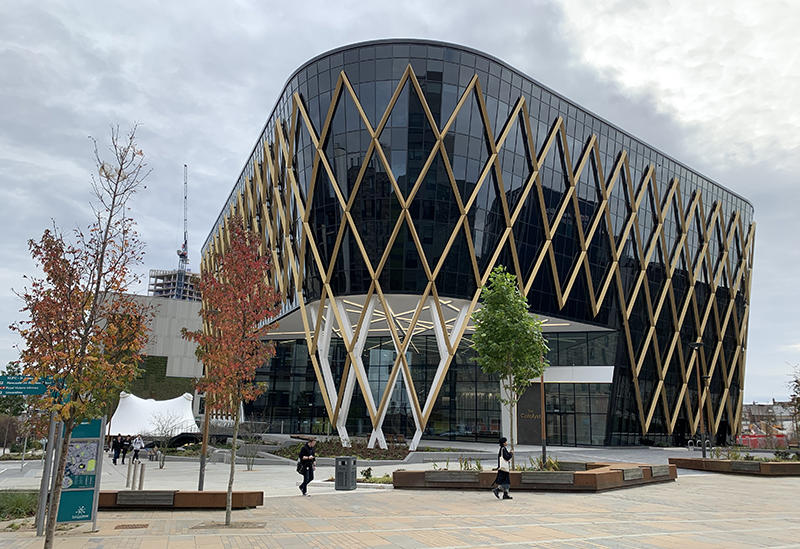 The Catalyst building at Newcastle Helix