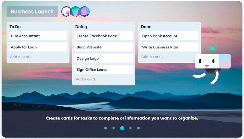 Start planning with Trello