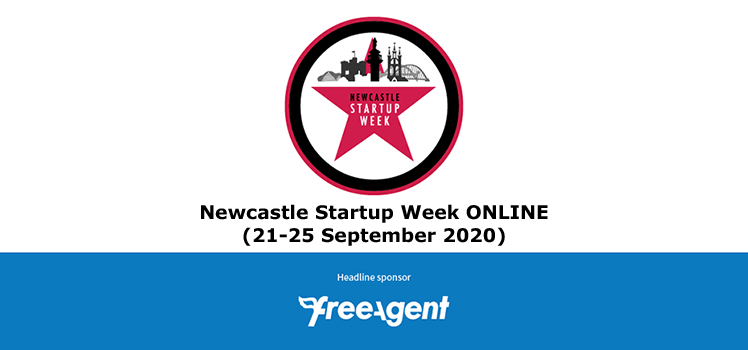 Newcastle Startup Week ONLINE (21-25 September 2020) sponsored by FreeAgent